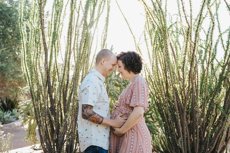 Brittany Outdoor Maternity Botanical Gardens