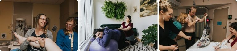 Meg Ross Photography works with Oregon area birth workers
